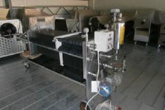 Filtre presse avec filtration double 1